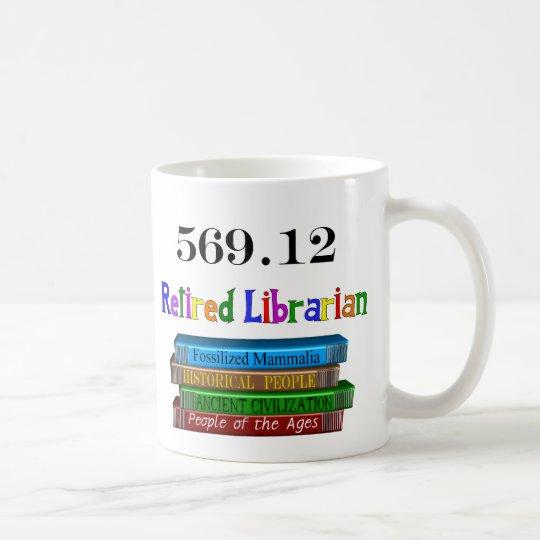 Pensionierter Bibliothekar 569,0 Tasse
