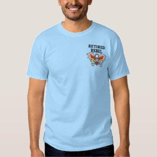 Pensioniertes Rebell gesticktes Shirt
