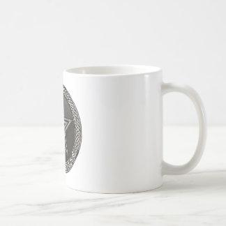 Pentacle Celtic Circle Kaffeetasse