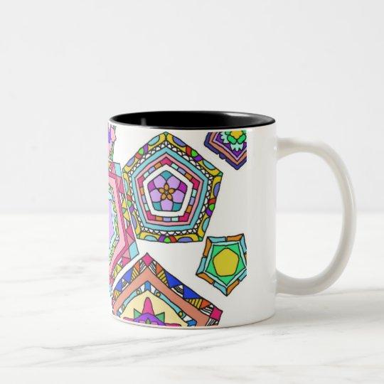 Pentagon Zweifarbige Tasse