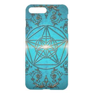Pentagram, ein mystisches und magisches Symbol iPhone 8 Plus/7 Plus Hülle