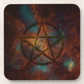 Pentagram Getränkeuntersetzer