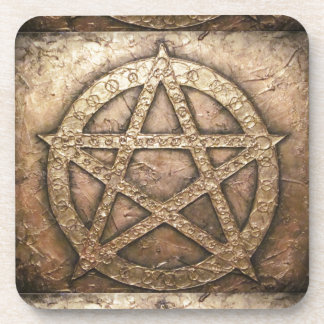 Pentagram von Schutzen Untersetzer