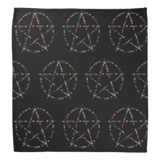 Pentagramm Halstuch