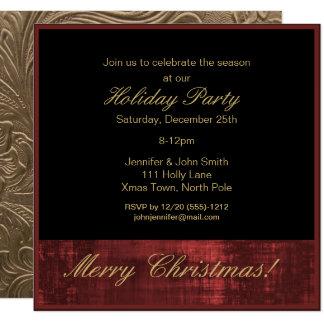Penthouse Reihen Weihnachtsfeiertags Party Karte