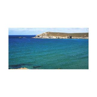 Pentire Punkt, Cornwall Leinwanddruck