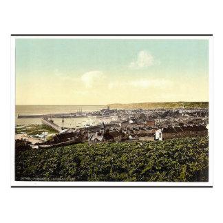 Penzance, allgemeine Ansicht, Klassiker Cornwalls, Postkarte