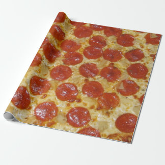 Pepperoni-Pizza Geschenkpapier