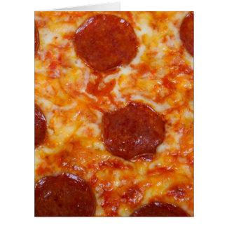 Pepperoni-Pizza Karte