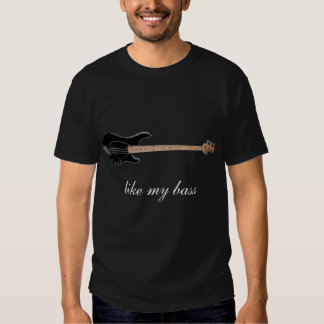 perche de musicman, comme ma basse tee-shirt