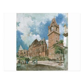 Perchtoldsdorf durch Rudolf von Alt Postkarte
