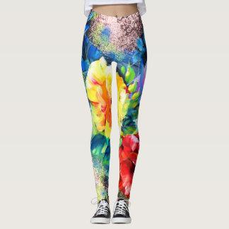 Perfekte Paarung der Kunst + Yoga Leggins. Leggings