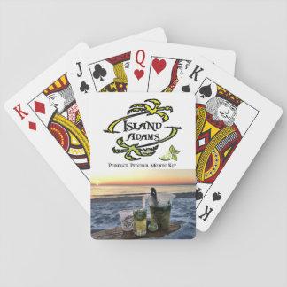 Perfekte Spielkarten Insel-Adams