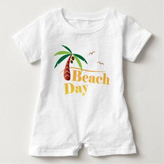 Perfekter Sommer-Strand-Tag Baby Strampler
