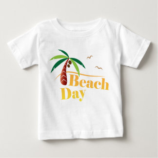 Perfekter Sommer-Strand-Tag Baby T-shirt