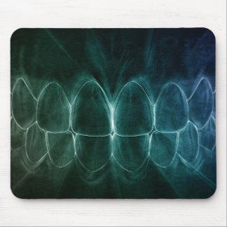 Perfekter Zahn-Biss-Zahnarzt Mousepad