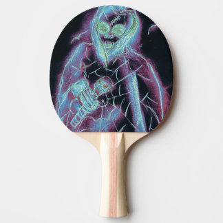 perfektes beängstigendes Skelett Tischtennis Schläger
