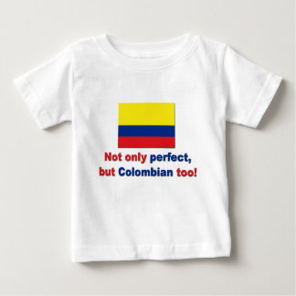 Perfektes kolumbianisches baby t-shirt