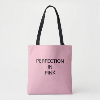 PERFEKTION IM ROSA Käufer Tasche