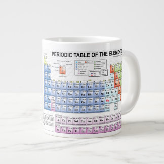 Periodische Tabellen-Tasse Jumbo-Tasse