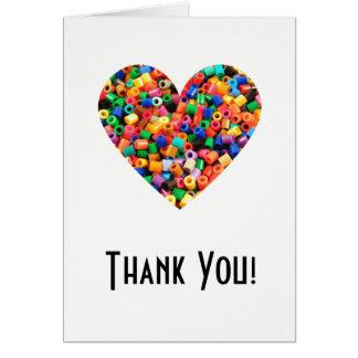 Perlen-Liebhaber danken Ihnen Karte