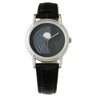 Perlen-Welle Armbanduhr