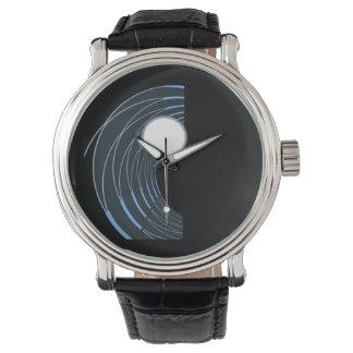 Perlen-Welle Uhr