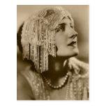 Perles et mode carte postale