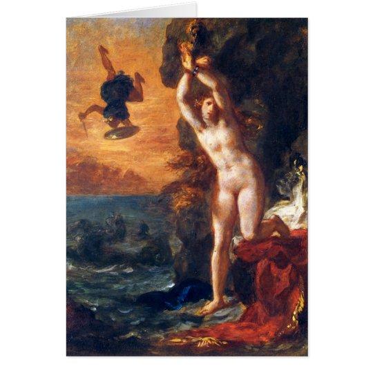 Perseus und Andromeda Grußkarte
