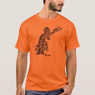 """Persische Kalligraphie von Rumi Gedicht """"alter T-Shirt"""