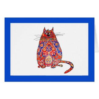 persische Katze Karte