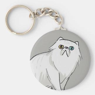 Persische Katze Keychain Schlüsselanhänger