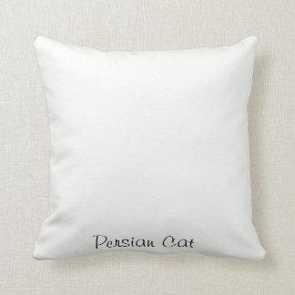 Persische Katzen-Wurfs-Kissen Kissen