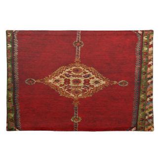Persischer Teppich - mutiger Entwurf Tischset