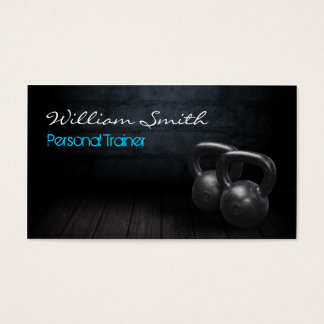 Personal Trainer Business card Visitenkarte