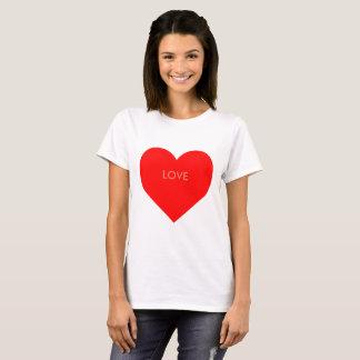 Personalisierbares Herz T-Shirt