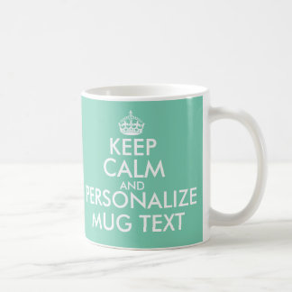 Personalisiert behalten Sie ruhige Tasse