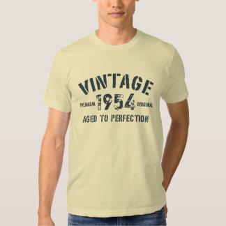 Personalisiert Ihre Vintages JAHR erstklassige Hemden