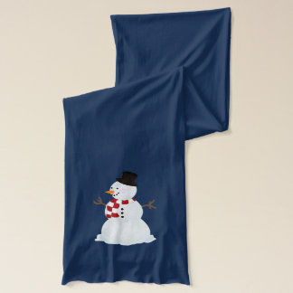 Personalisiert: Schneemann und Schneeflocke-Schal Schal
