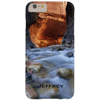 Personalisiert, verengt Zion Südwestlandschaft Barely There iPhone 6 Plus Hülle