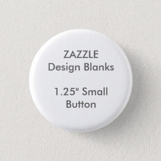 """Personalisierte 1,25"""" kleine runde runder button 3,2 cm"""