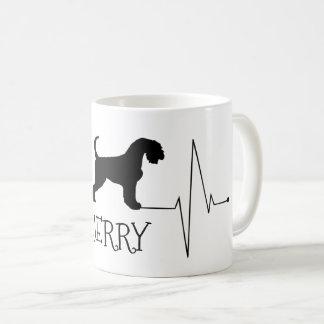 Personalisierte Airedale-Liebe mein Kaffeetasse