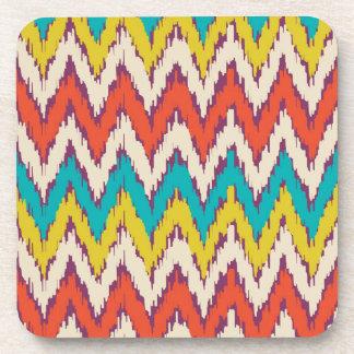 Personalisierte aztekische Stammes- Ziz Zag-Muster Untersetzer