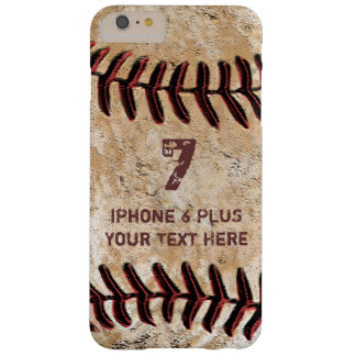 Personalisierte Baseball iPhone 7 PLUSfall Ihr Barely There iPhone 6 Plus Hülle