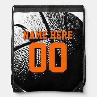 Personalisierte Basketball Turnbeutel
