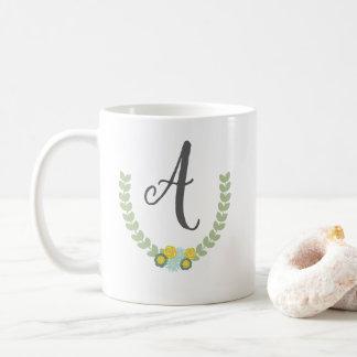 Personalisierte BlumenTasse Kaffeetasse
