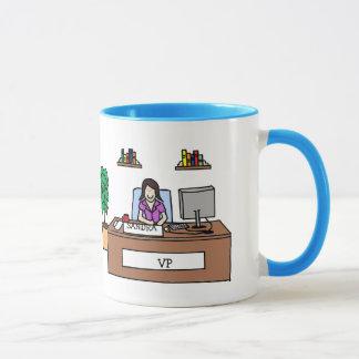 Personalisierte Cartoon-Tasse für VP Tasse