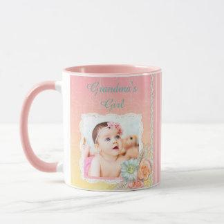 """Personalisierte das Mädchen-"""" Rosa-Kaffee-Tasse Tasse"""