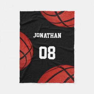 Personalisierte Decke des Basketball-Sport-Teams