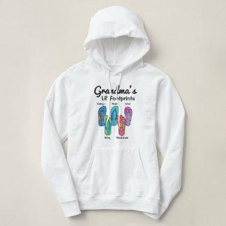 Personalisierte der Lil der Großmutter Abdrücke Hoodie